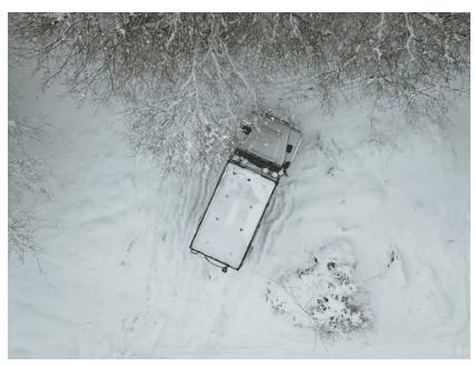 snow car damage, snow damage